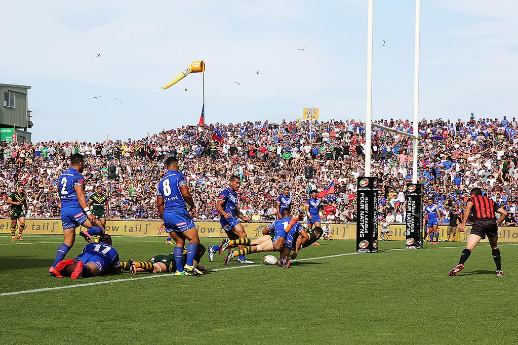 Australia too strong for Samoa