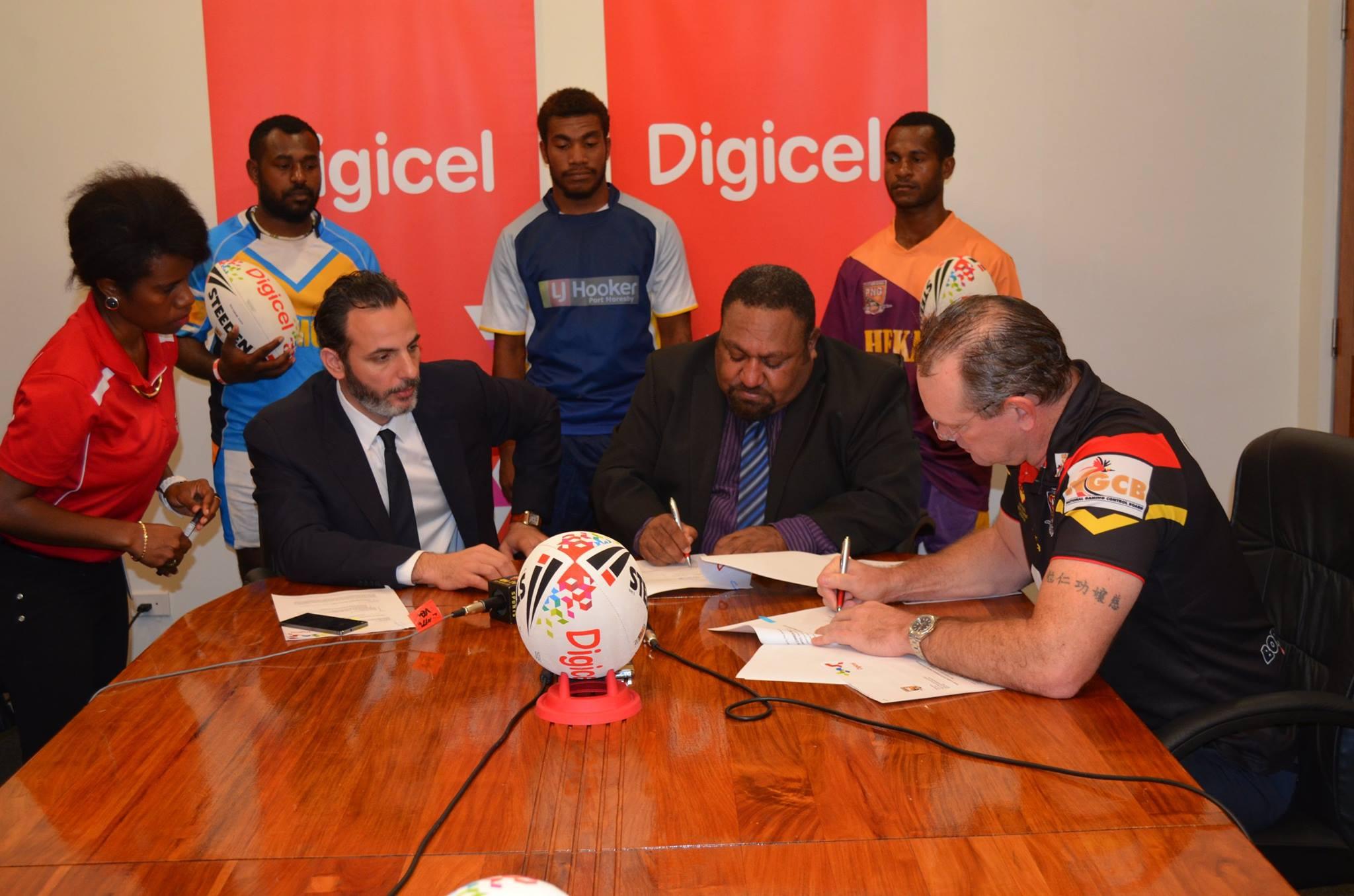 Digicel to sponsor PNGRFL Super Nines