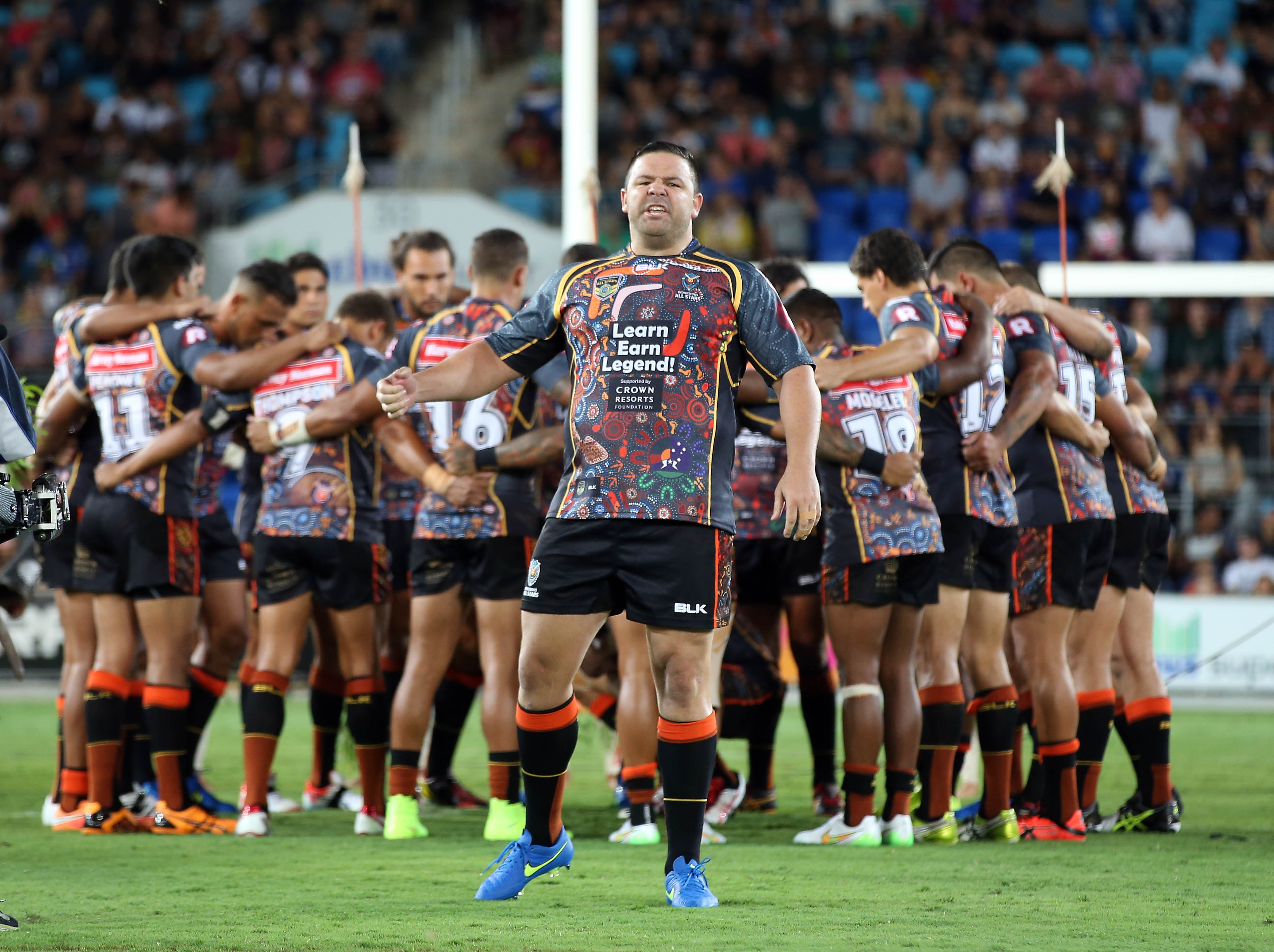 Indigenous All Stars leave it late
