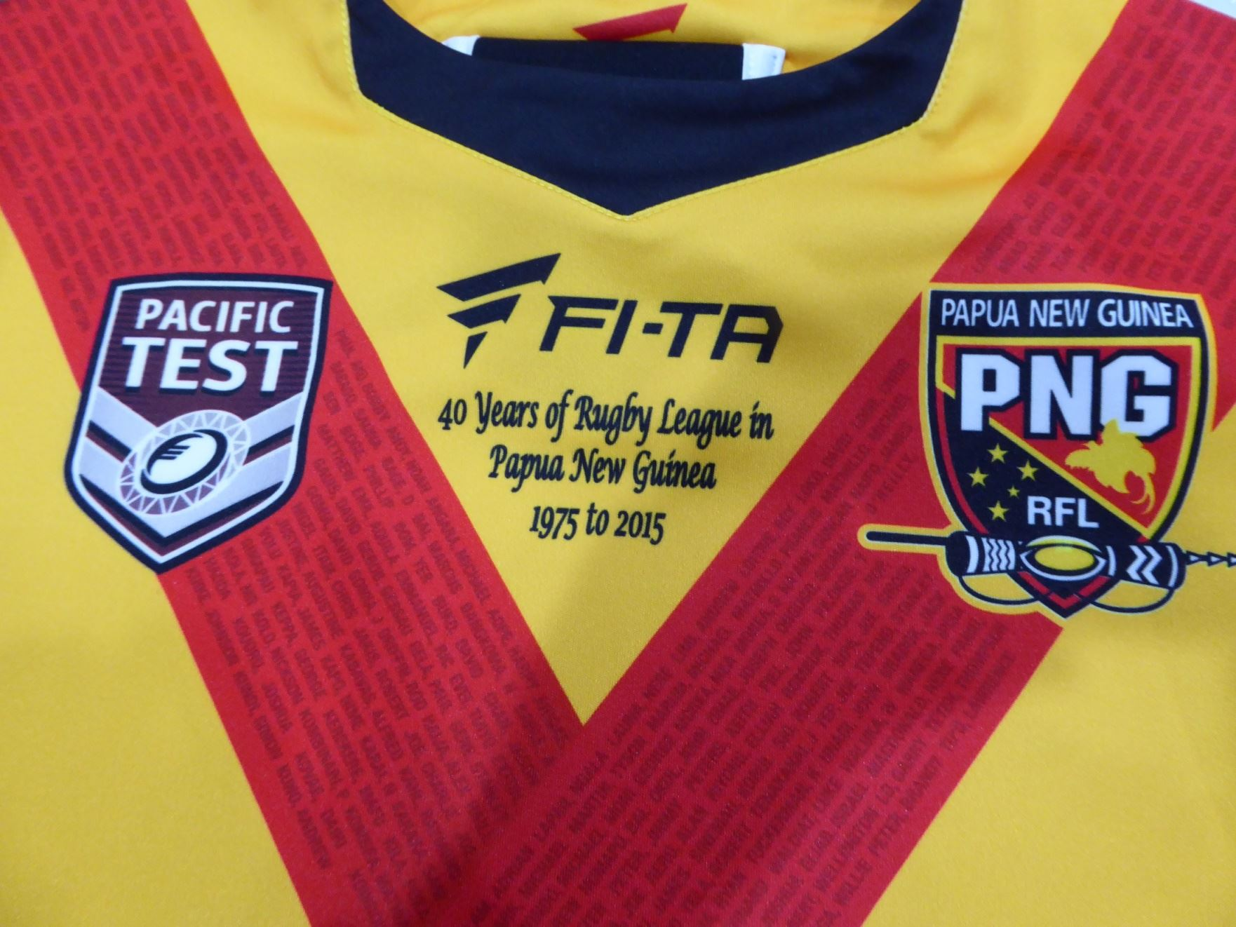 PNG name team for Pacific Games