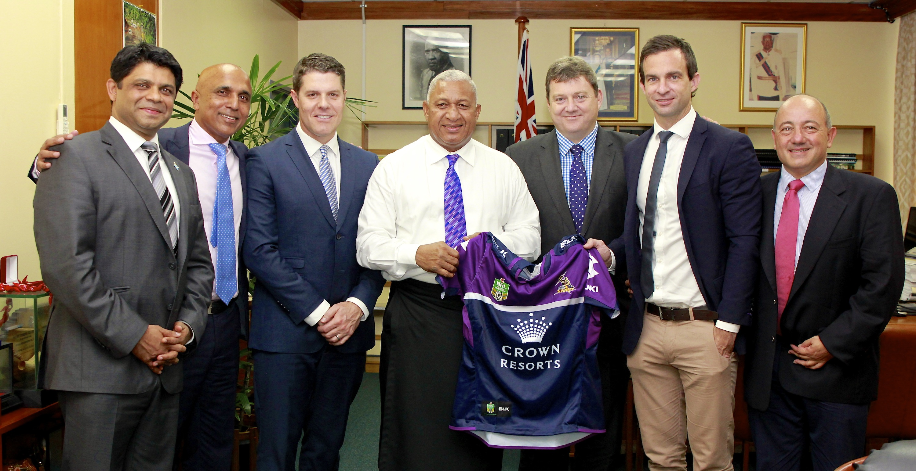 Melbourne Storm to play in Fiji
