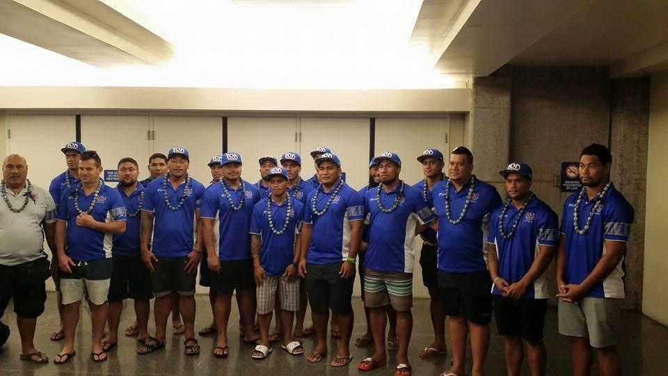Toa Samoa name side for Ohana Cup