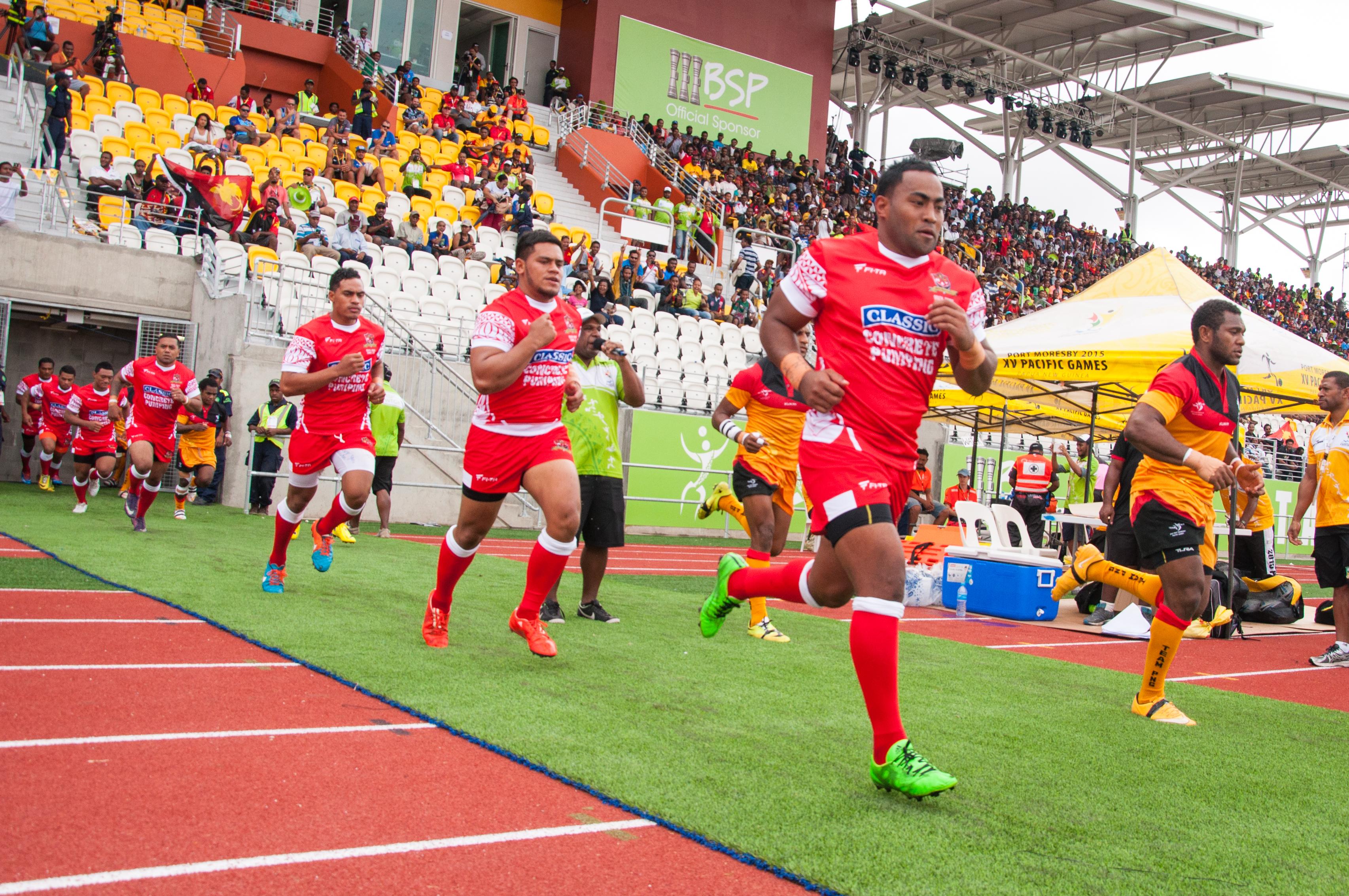 Tonga name train-on squad