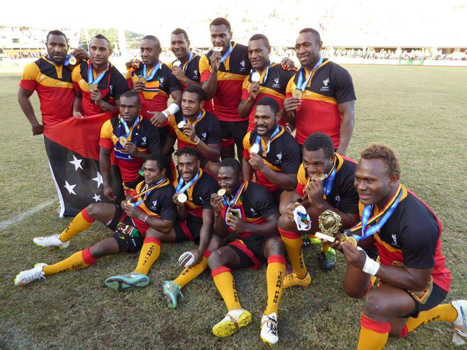 Unbeaten PNG claim Rugby League 9s gold