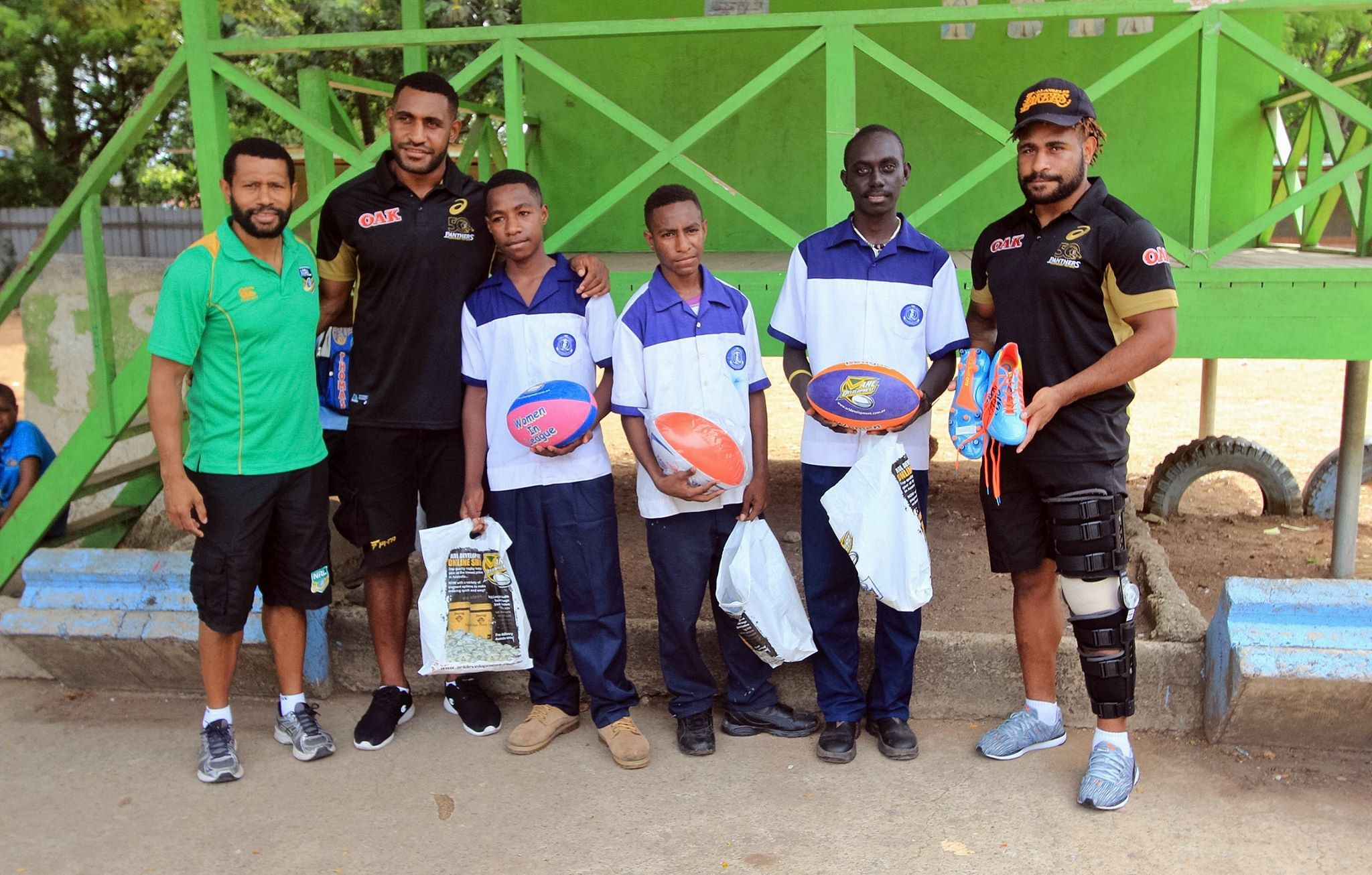 Penrith Panthers make an impact in PNG