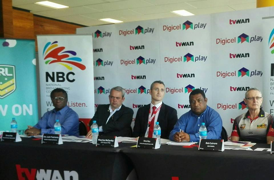 Digicel and NBC set to deliver NRL into PNG in 2016