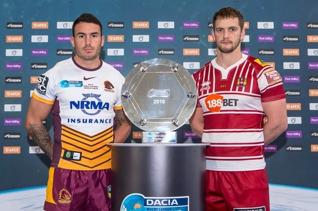 Wigan name 19-man squad for World Club Series