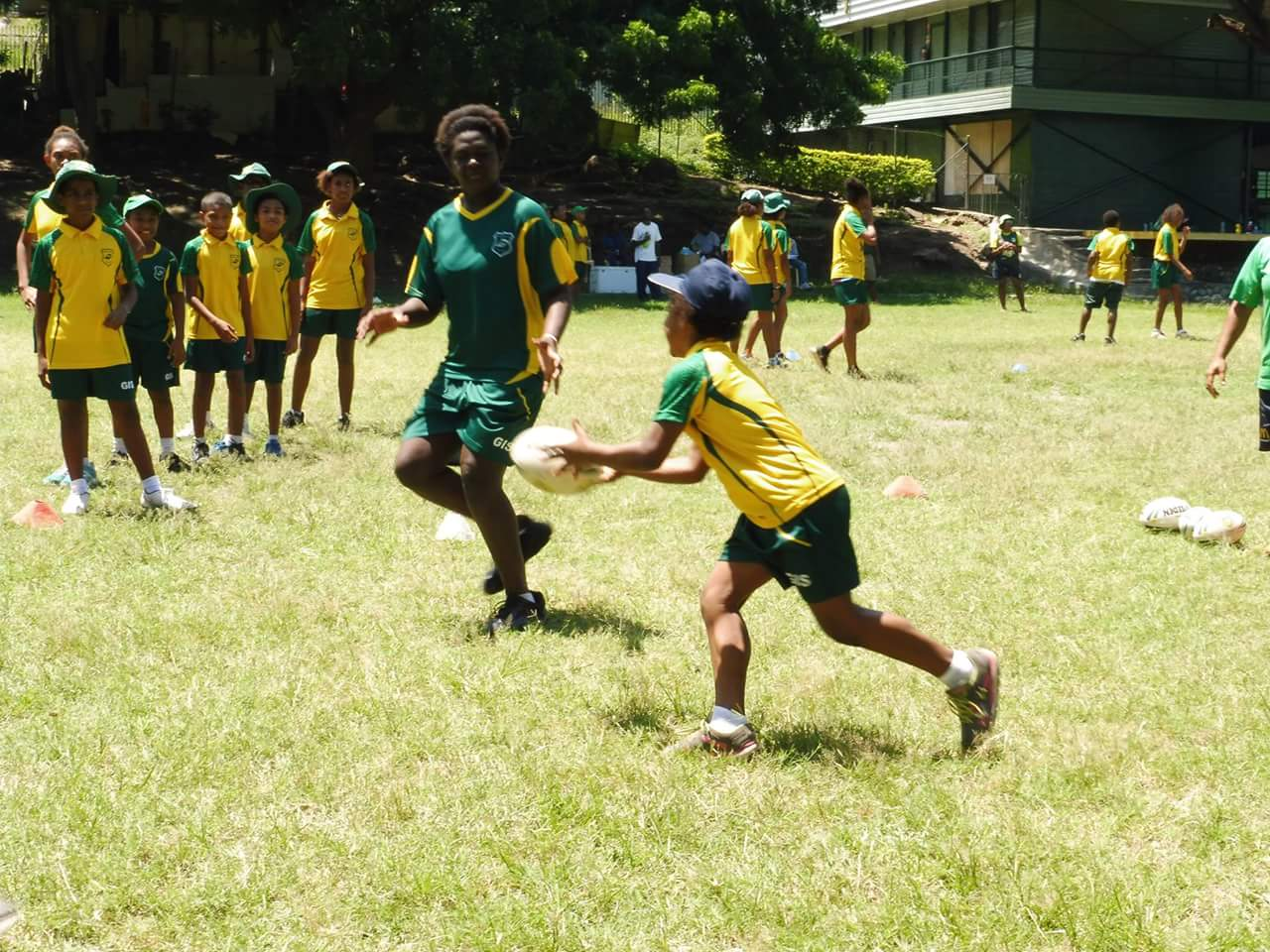 A healthy way to learn in PNG
