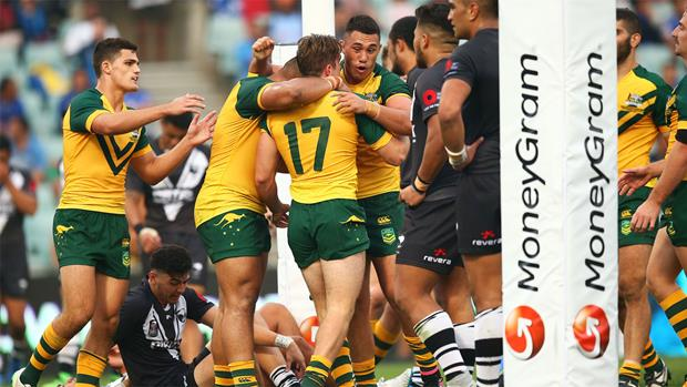 Junior Kangaroos too strong against Junior Kiwis