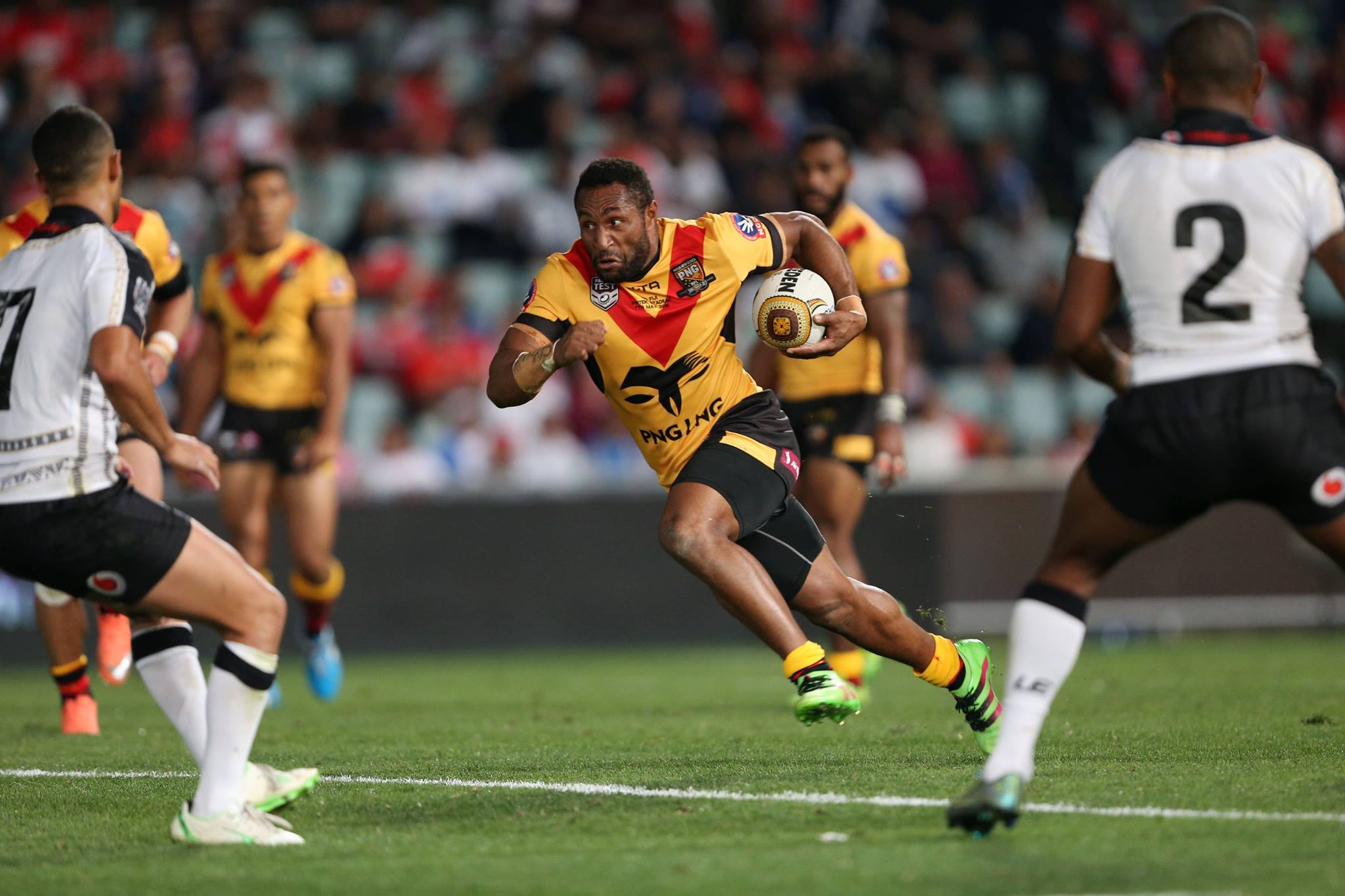 Papua New Guinea make large strides in World Rankings