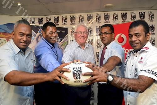 Fiji National Rugby League announce partnership with Fiji Times