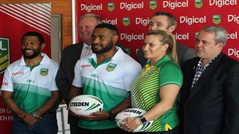 NRL and Digicel team up to empower Pacific region