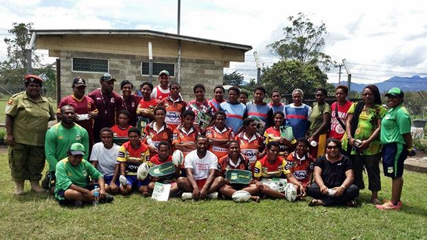 No boundaries for rugby league in PNG