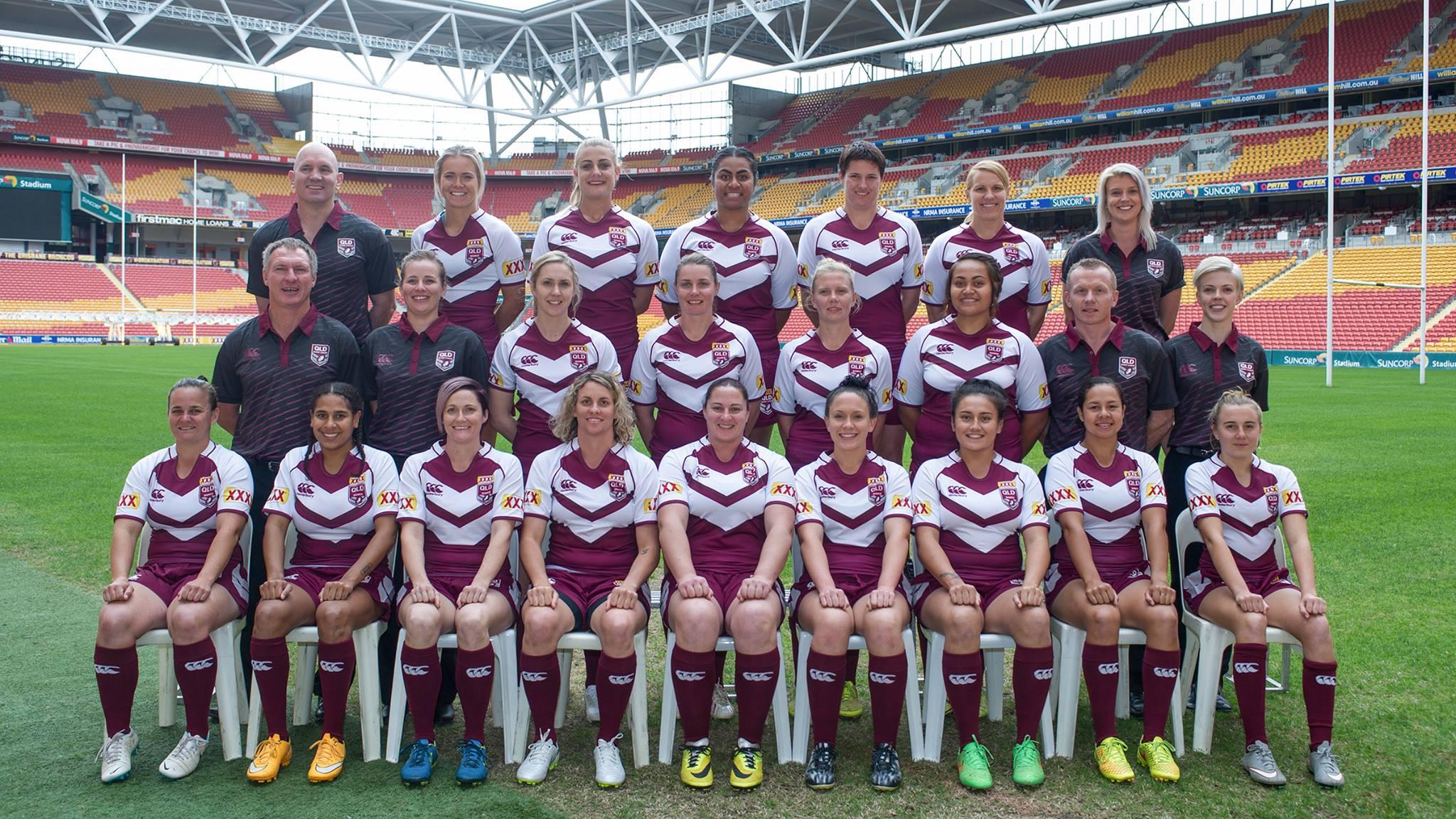 Women's teams named for Origin