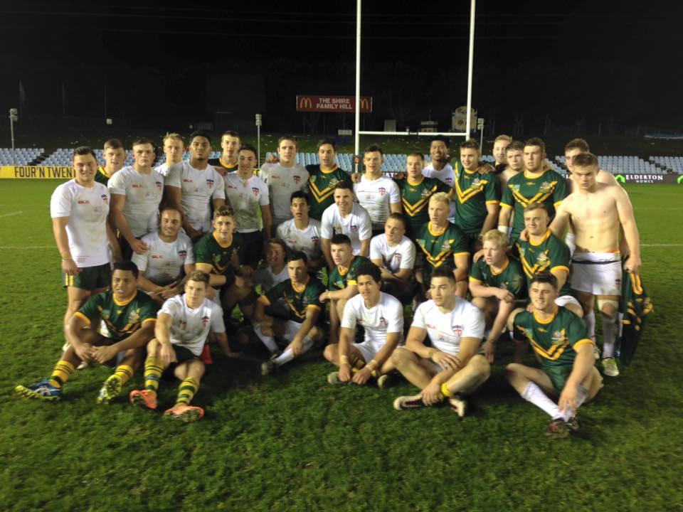 Australian Schoolboys wrap up series against England Academy