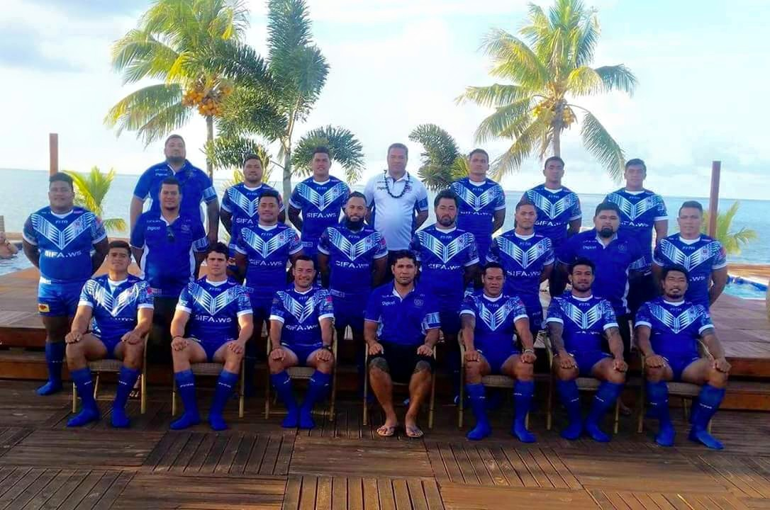 Toa Samoa Residents side named for Country clash