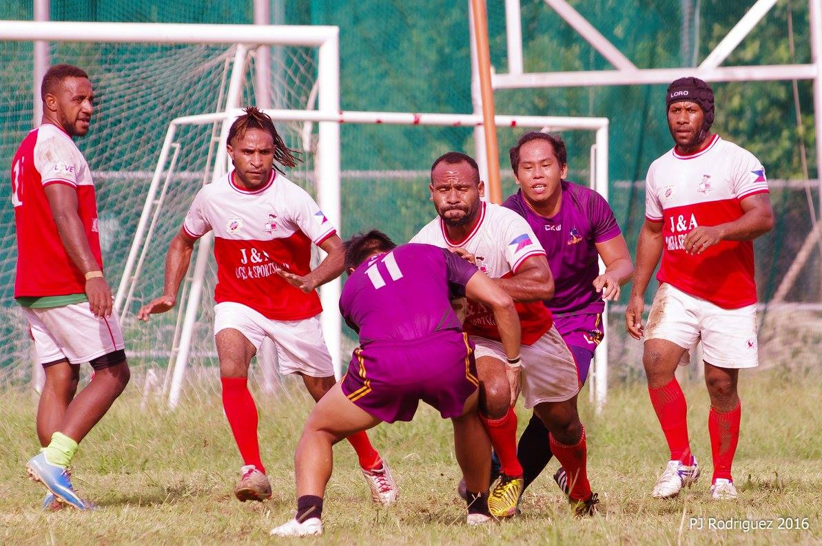 Philippines National Rugby League kicks off in Typhoon conditions