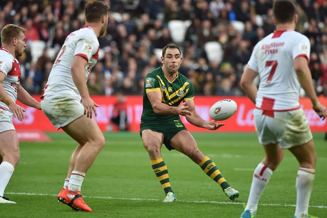Kangaroos too strong for English in London