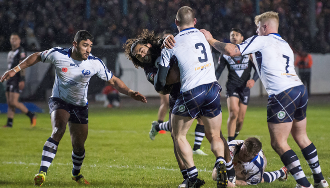 Scotland secures late draw against Kiwis