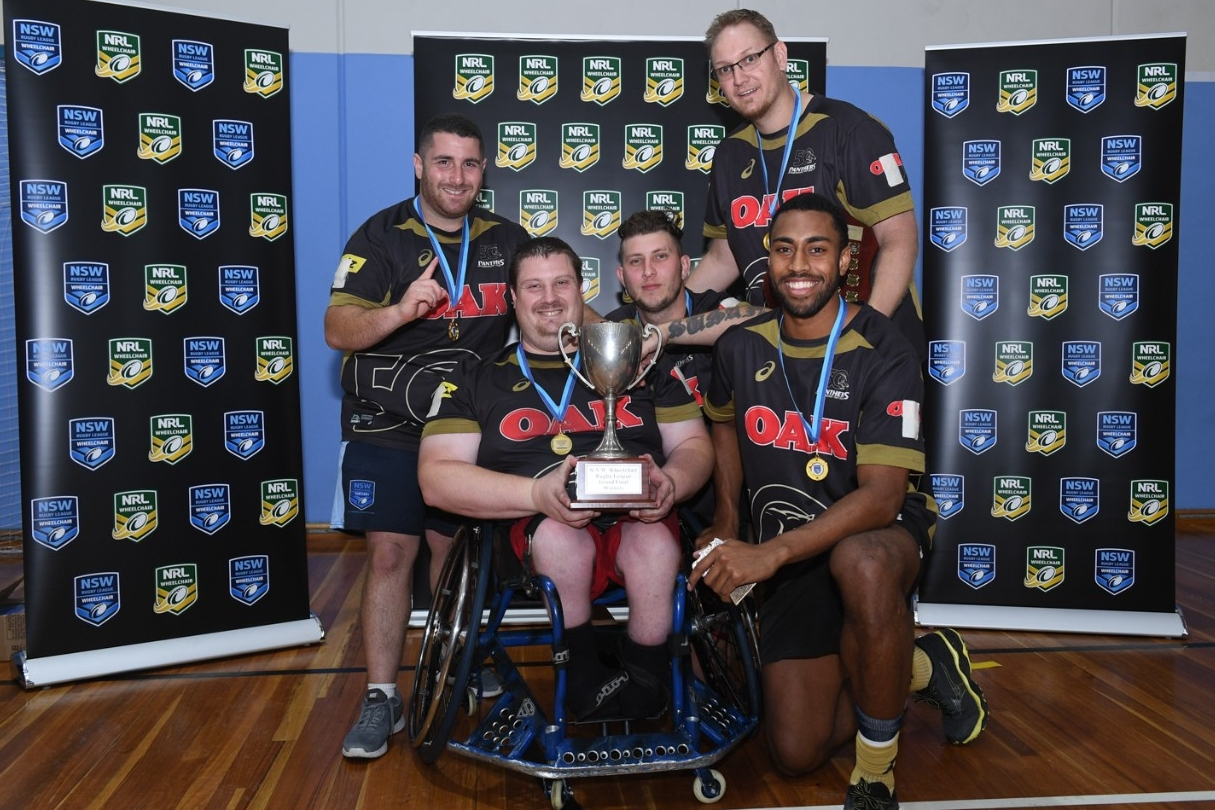 Panthers win NSW Wheelchair Championship