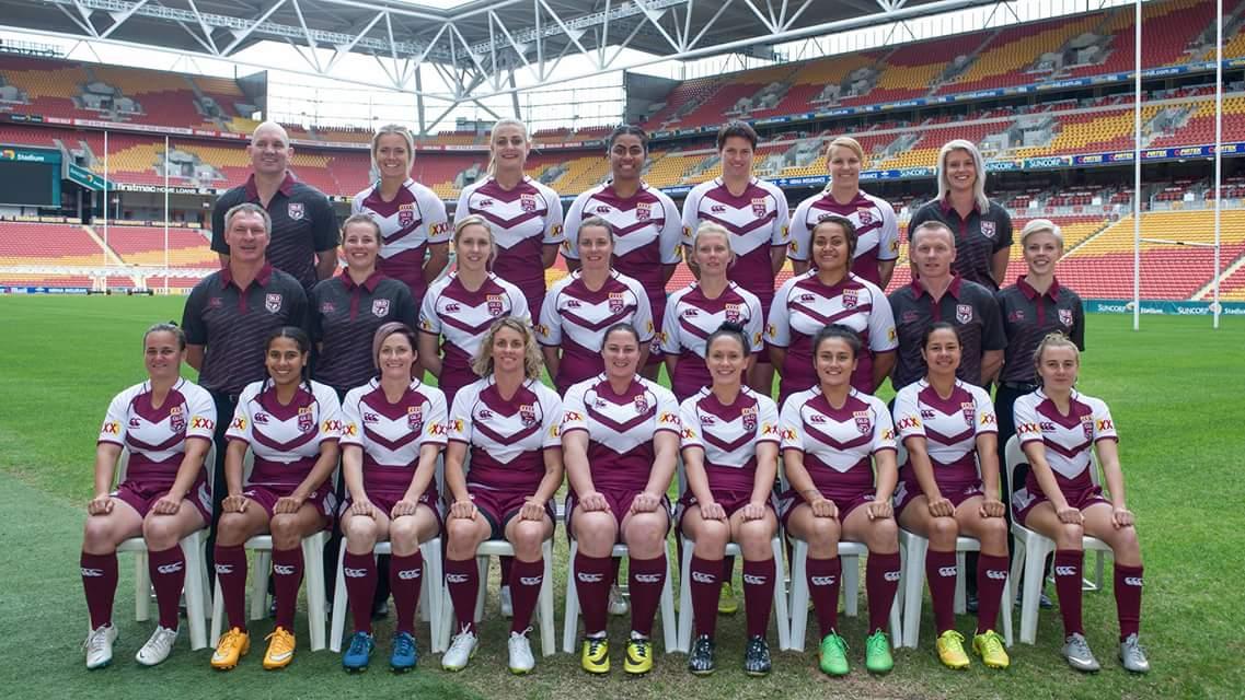 Female squad enters QAS rugby league program