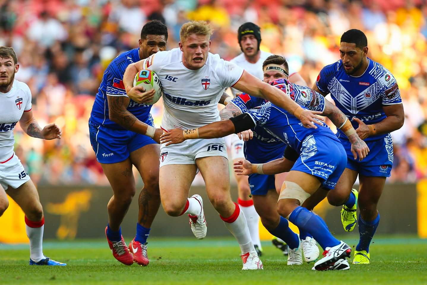 England & Cook Islands join Pacific Triple Header