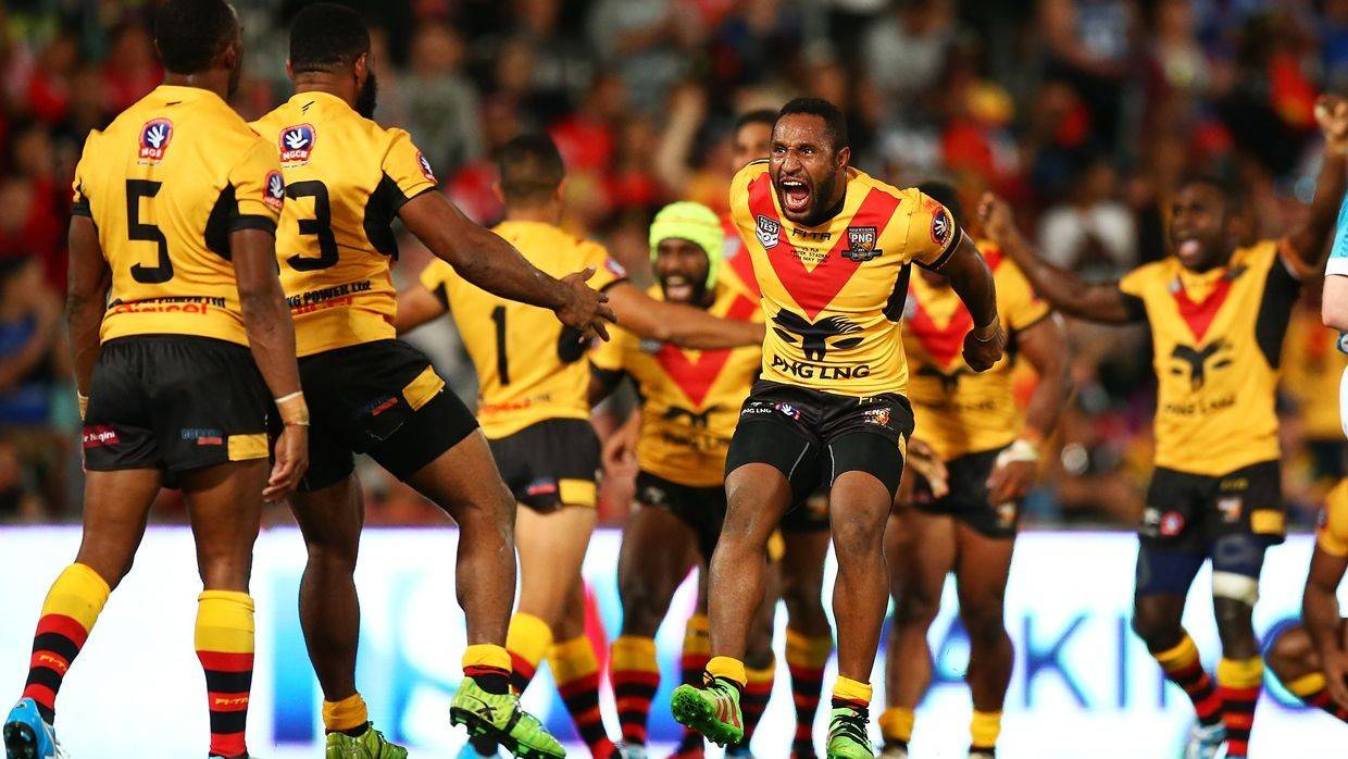 PNG Kumuls squad announced for Cook Islands Test