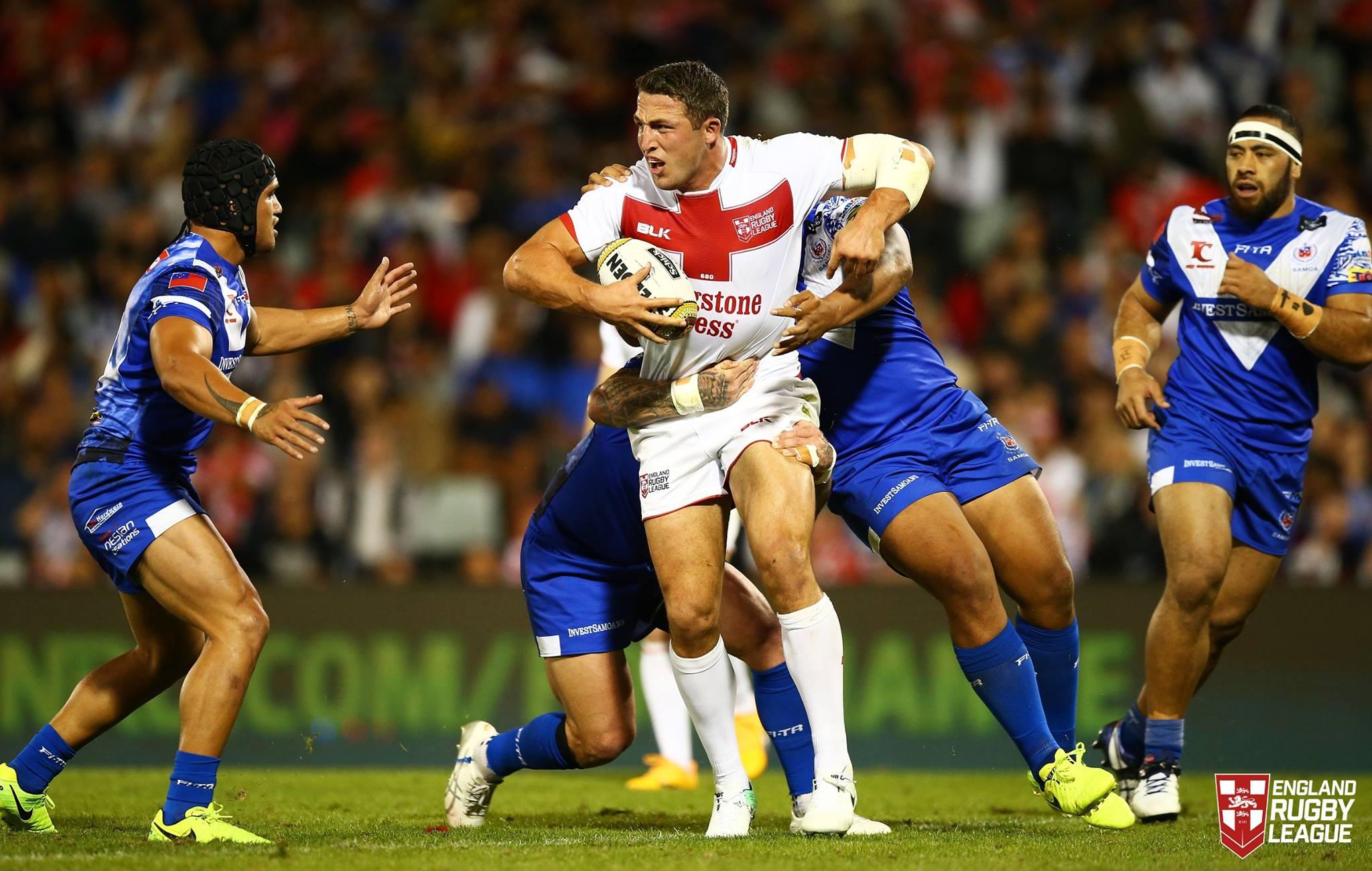 England too strong for Samoa