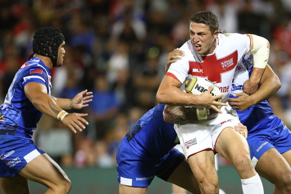 England to play NRL Affiliated States in World Cup warm up