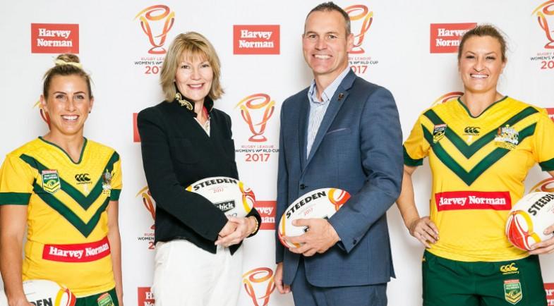 Harvey Norman announced as major partner of Women's World Cup