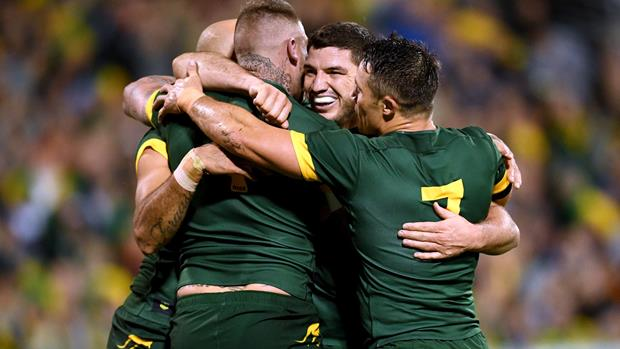 Kangaroos win in Smith's 50th Test