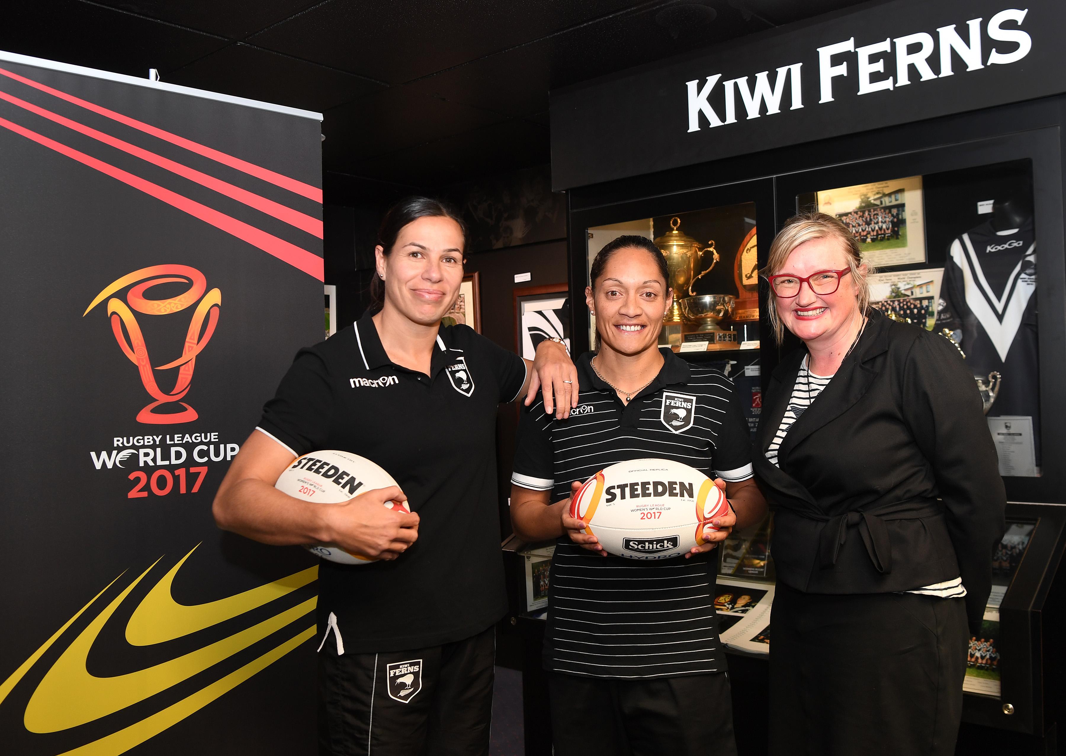 Kiwi Ferns to play RLWC trial in Hamilton