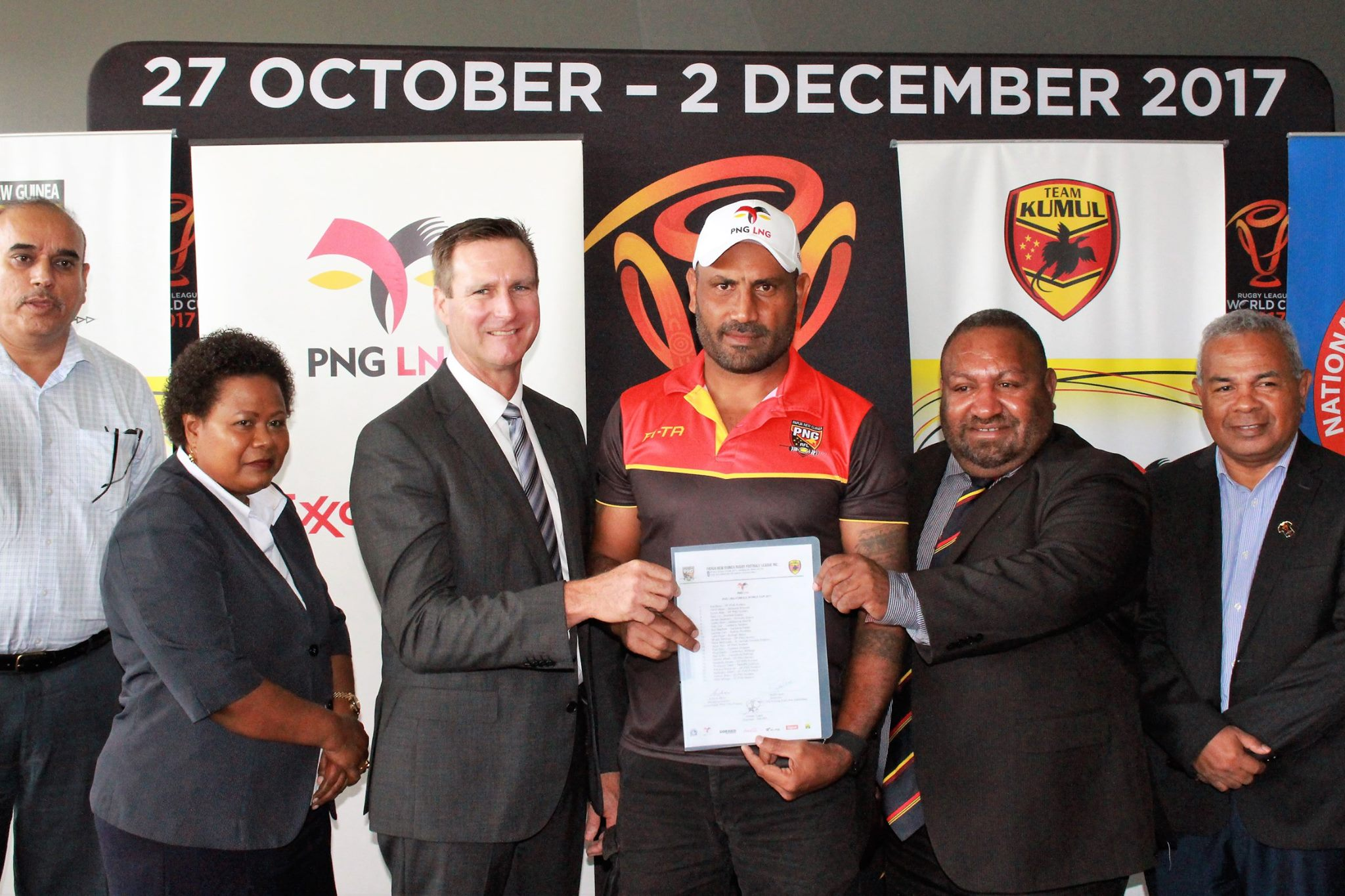 Papua New Guinea announce Kumuls squad for World Cup