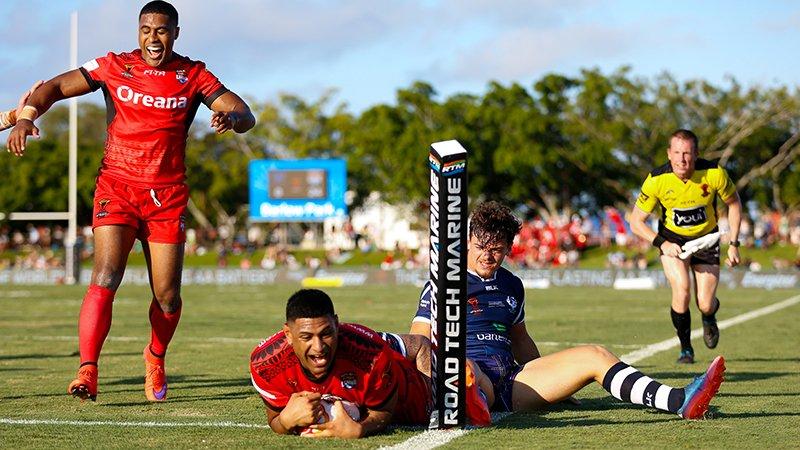 Tonga crush Scotland in Cairns