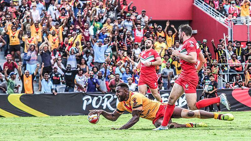 Papua New Guinea record large victory over Wales in Port Moresby