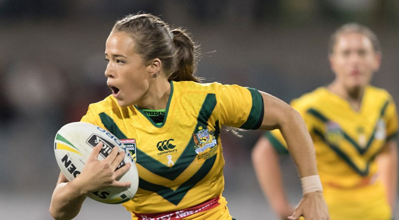 Jillaroos name squad for World Cup