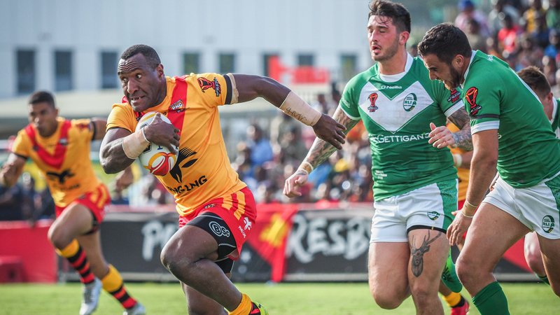 Kumuls off hold Ireland in Port Moresby