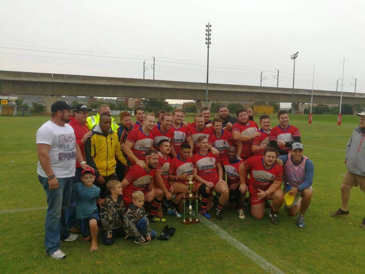 University of Pretoria Tuks win Gauteng Rhino Cup
