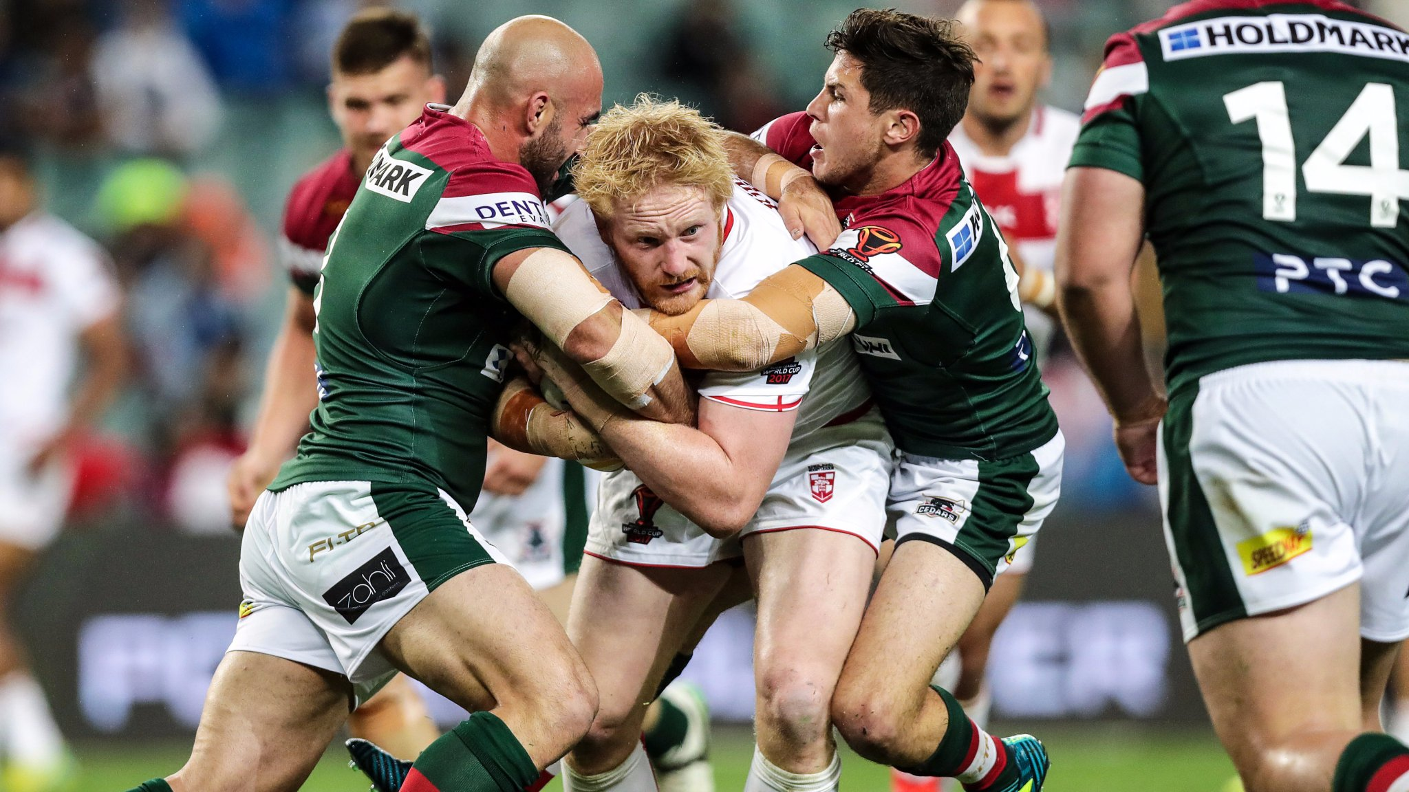 England outclass Lebanon in Sydney