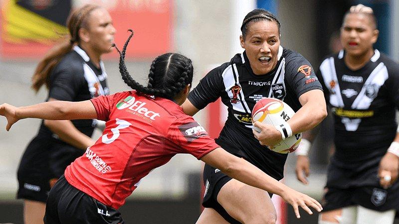 Kiwi Ferns defeat Ravens in Women's World Cup opener
