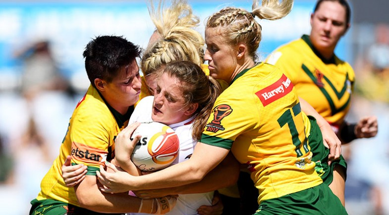 Jillaroos too strong for Lionesses