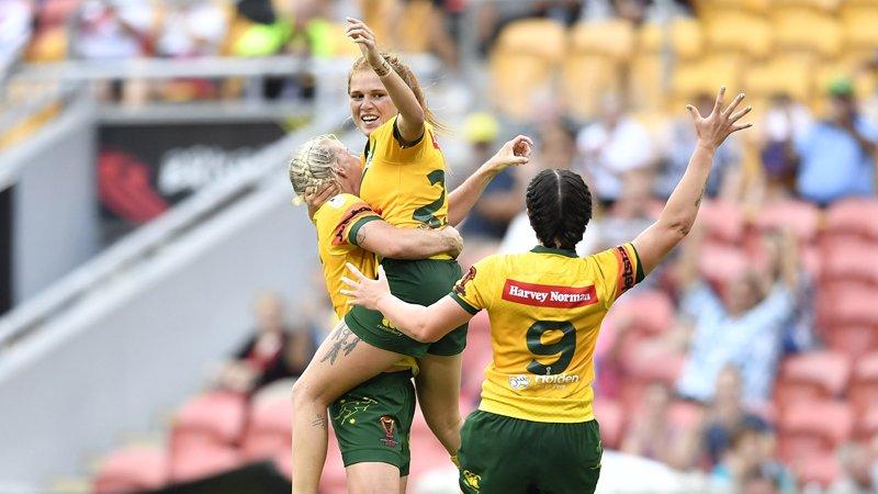 Jillaroos defeat Kiwi In thrilling Women's World Cup Final