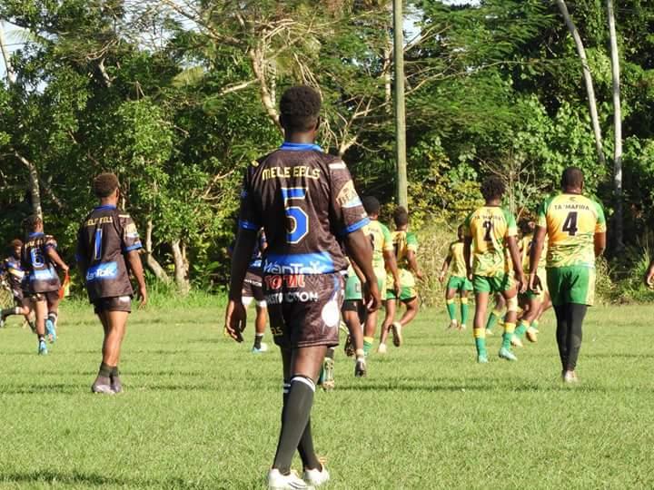 Eels push Blackbirds in final round of Port Vila season
