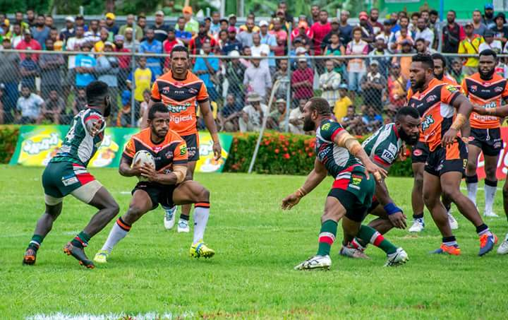 Lae Tigers record significant win in PNG Digicel Cup