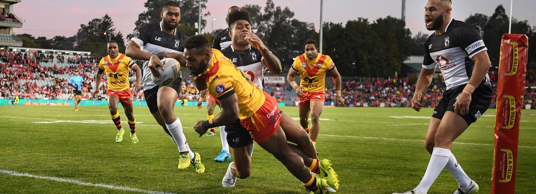 Papua New Guinea starts fast to stun Fiji in Pacific Test