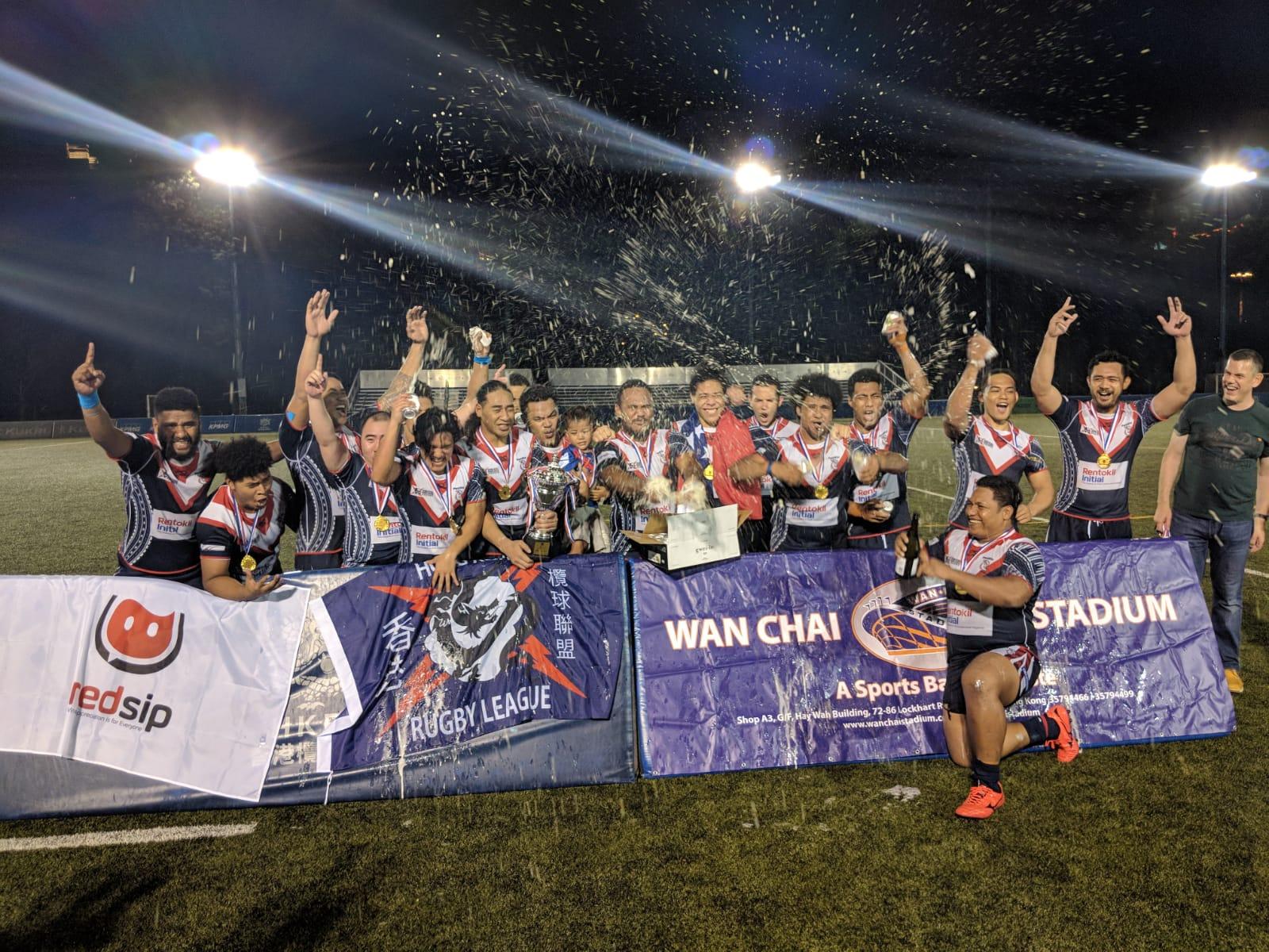 Pacific Toa win 2018 Hong Kong Super League