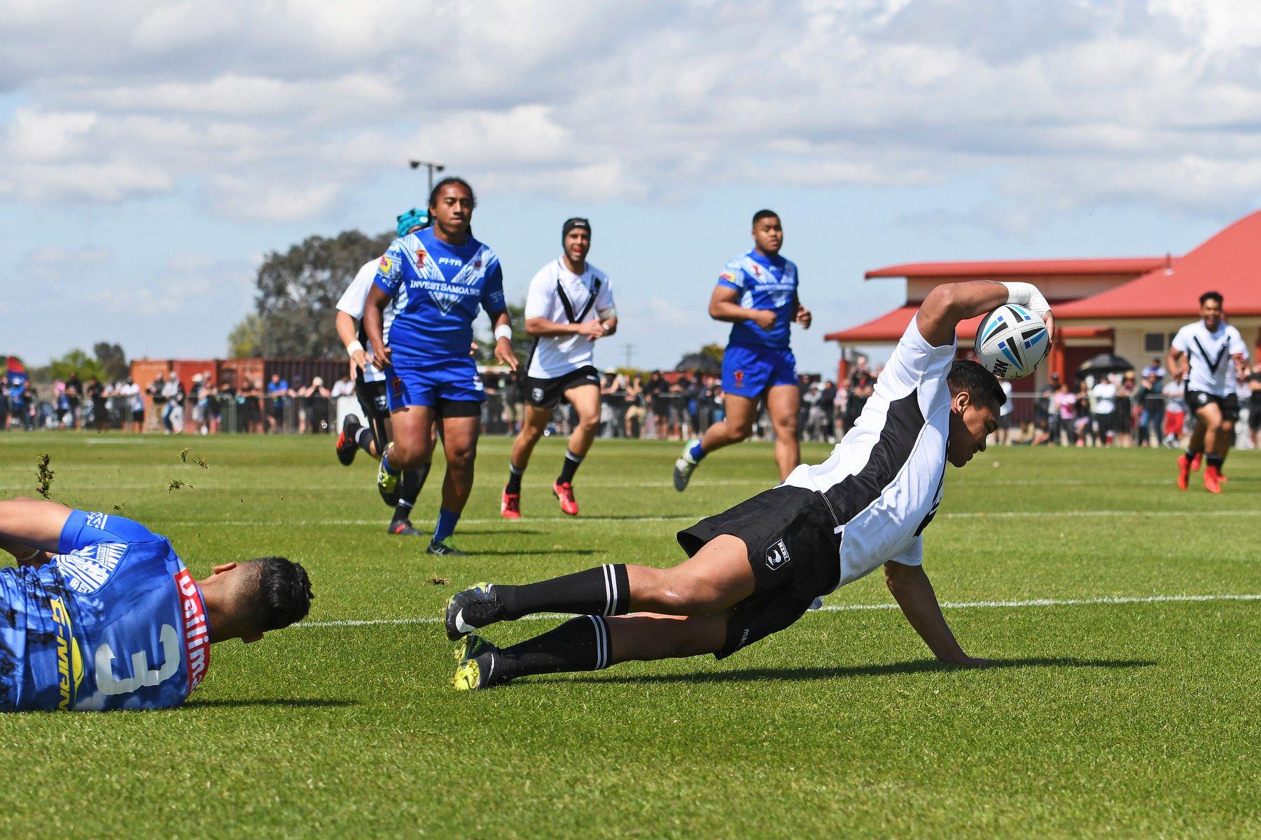 New Zealand Residents U18s defeated Toa Samoa U18s