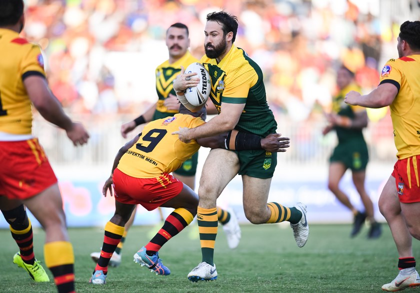 After pitch invasion, PM's XIII prevail