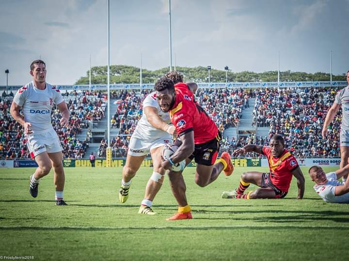 PNG Kumuls defeat England Knights in Port Moresby