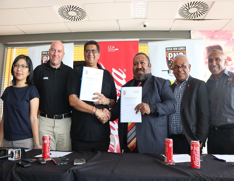 PNGRFL secure major sponsor for National Schools Rugby League